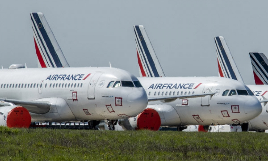 Le groupe Air France va supprimer 7