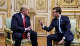 """Make France Great Again"" : Trump attaque Macron sur Twitter"