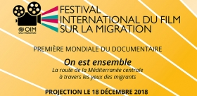 "Journée internationale des migrants: le film ""On est ensemble"" projeté demain"