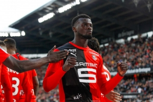 Rennes-Angers : Mbaye Niang s'offre un doublé